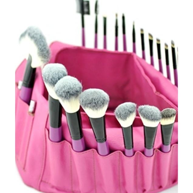Purple Tulip 24 Piece Makeup Brush Set