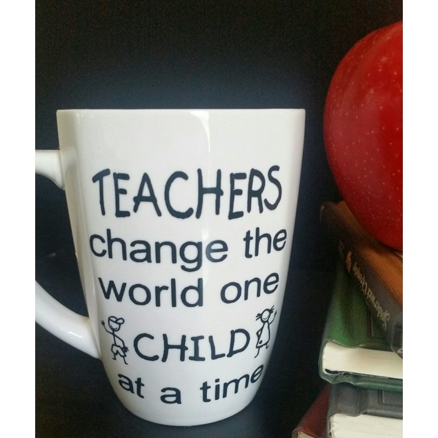 Personalized Teachers Change the World Mug