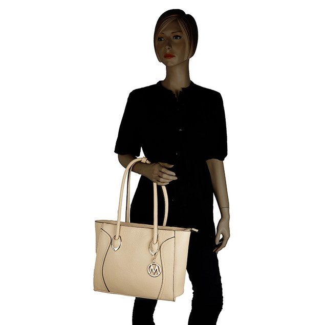 MKF Collection Tinsley Tote Shoulder Bag by Mia K. Farrow