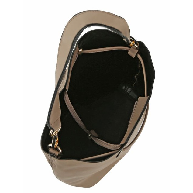 MKF Collection Kate 3-in-1 Shopper's Hobo with Cosmetic Pouch and Wristlet