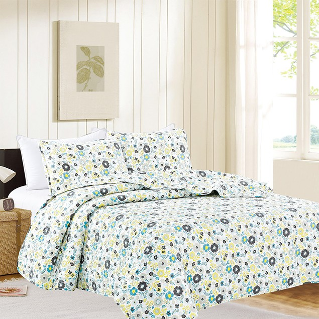 3-Piece Ultra-Soft Vilma Quilt Set
