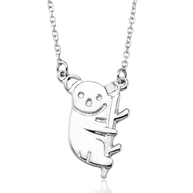 Koala on a Branch Necklace