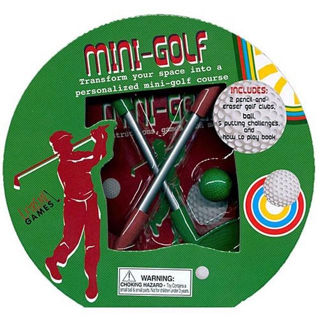 Mini-Golf Book