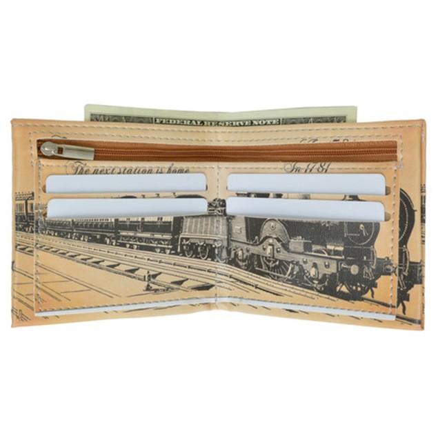 AFONiE Fun Graphics Luxury Billfold Wallet