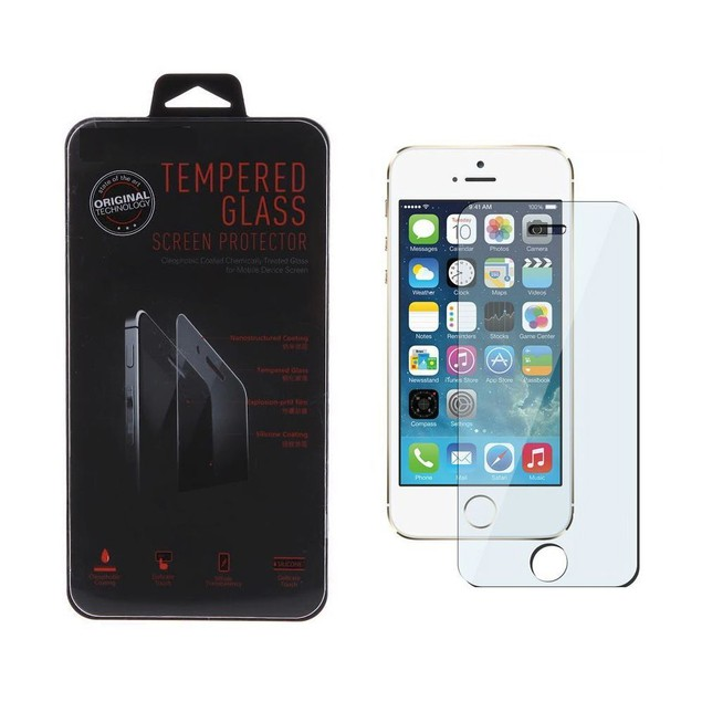 iPhone 5/5S/5C Tempered Glass Screen Protector