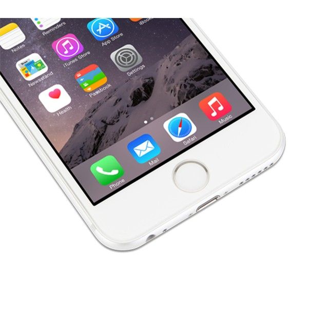 2-Pack Tempered Glass for Apple iPhone 6/6+