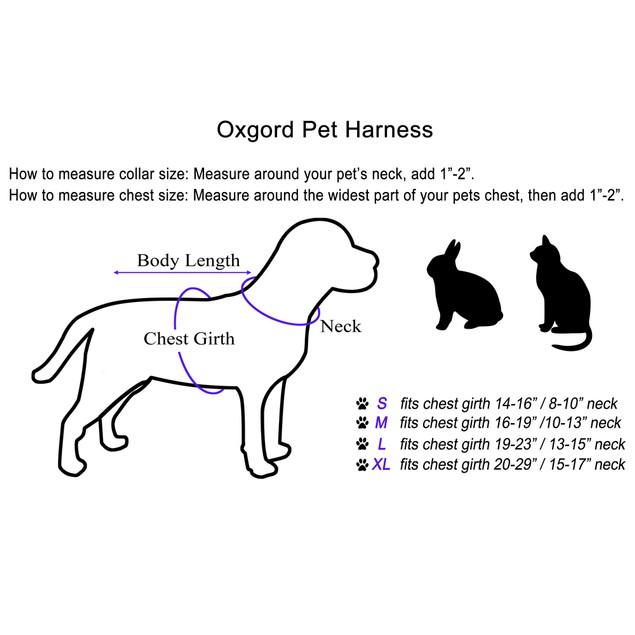 OxGord Pet Harness