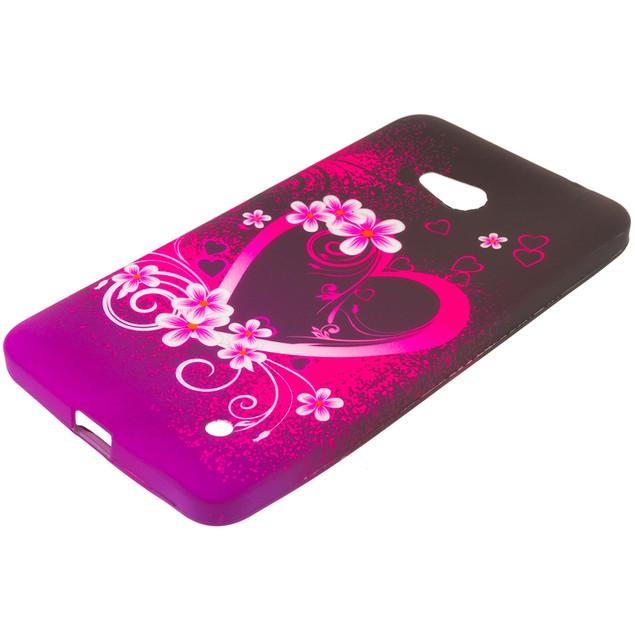 Nokia Lumia 640 TPU Design Rubber Skin Case Cover