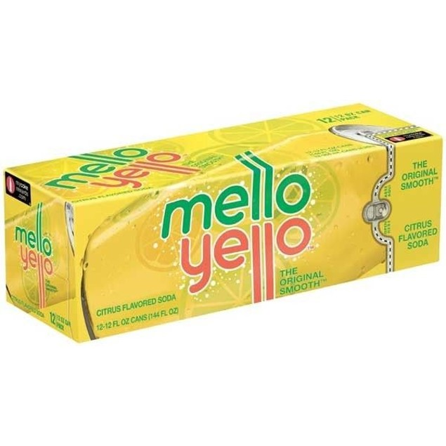Mello Yellow Soda 12 Pack of Cans
