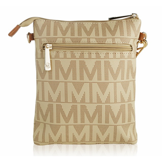 MKF Collection Charley Milan M Signature Crossbody by Mia K Farrow