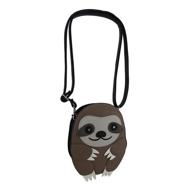 Adorable Sleepyville Critters Three Toed Sloth Womens Cross Body Bags