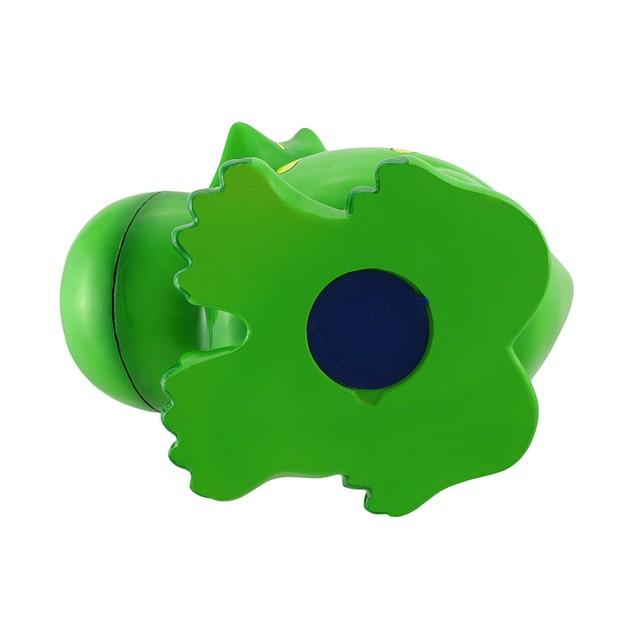 Children`S Jumbo Green Triceratops Dinosaur Coin Toy Banks