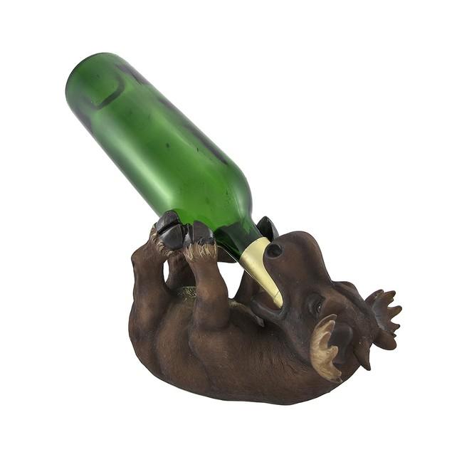 Baby Moose Tabletop Wine Bottle Holder Wine Racks