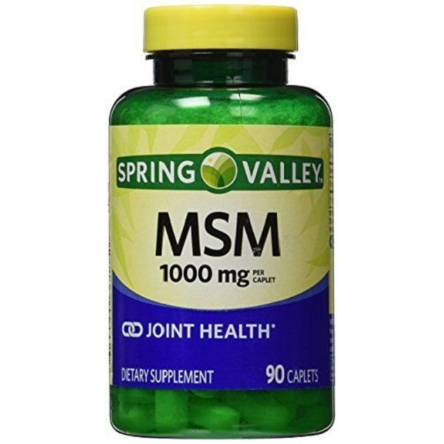 Spring Valley MSM 1000 mg Joint Health Tablets