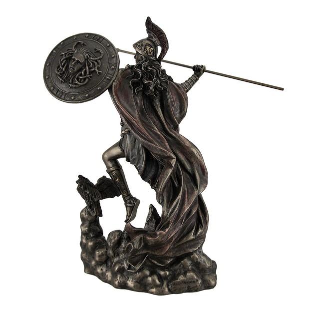 Athena Greek Goddess Of Wisdom & War Throwing Statues