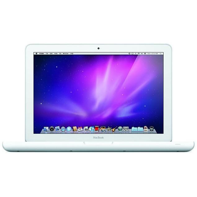 "Apple 13.3"" MacBook MC207LL/A, 500GB SSD, Core 2 Duo (Grade B)"