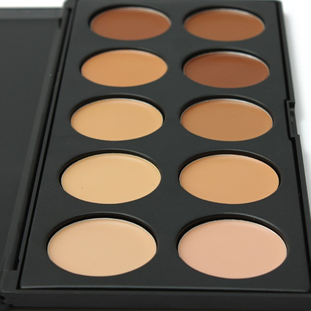 10 Color Concealer Palette