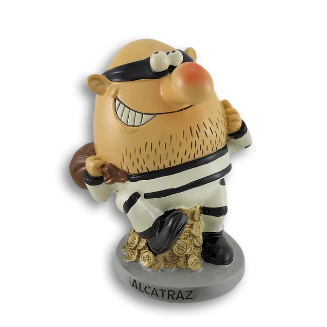 Escaped From Alcatraz Coin Bank Toy Banks