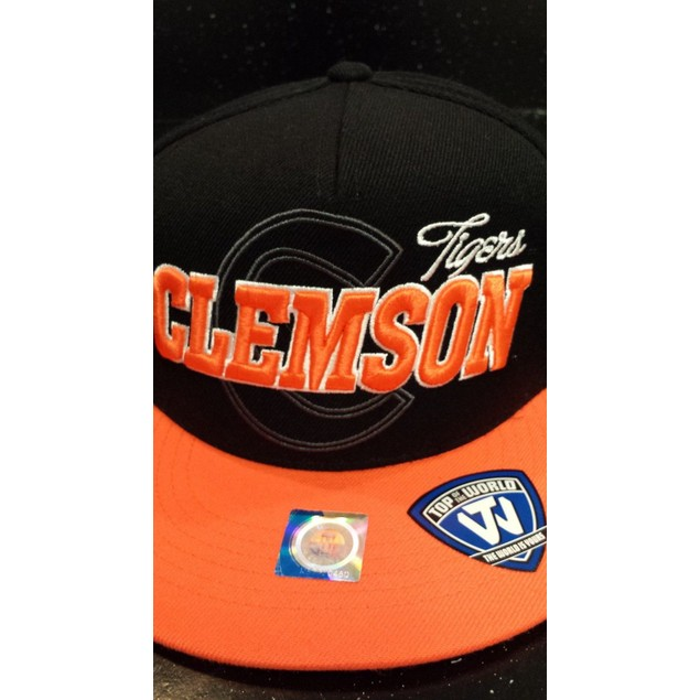 "Clemson Tigers NCAA TOW ""Sublime"" Strapback Hat"