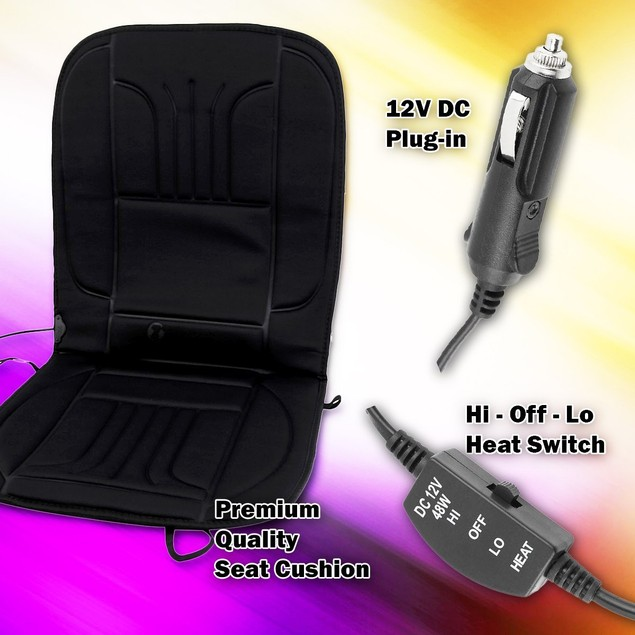 Zone Tech Thickening Heated Car Seat Cushion Warmer
