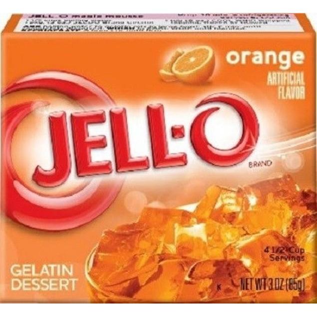 Jello Orange Instant Jello Mix