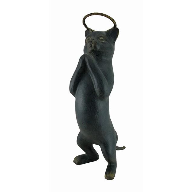 Innocence Cat With Halo Garden Sculpture Outdoor Statues