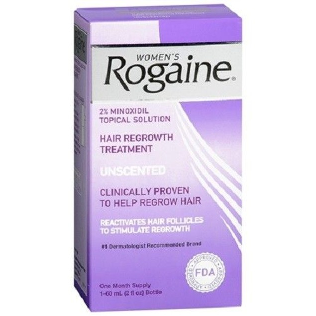 Women's Rogaine 2% Minoxidil Topical Hair Regrowth Treatment 2oz(60ml)