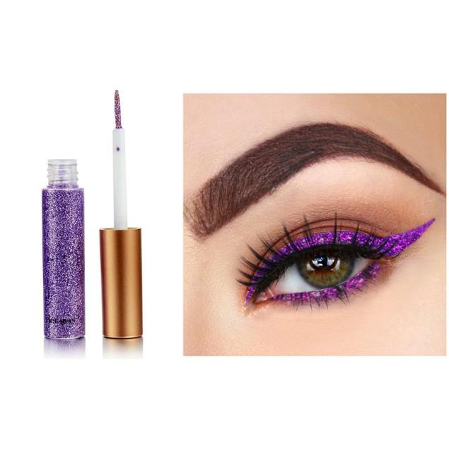 6-Pack: Glitter Liquid Eyeliner
