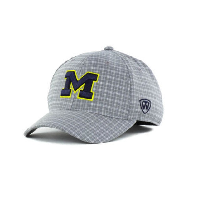 """Michigan Wolverines NCAA TOW """"Plaidee"""" Stretch Fitted Hat"""