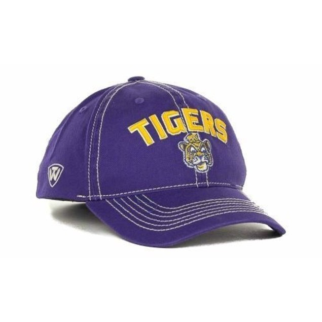 "LSU Tigers NCAA TOW ""Simplicity"" Stretch Fitted Hat"