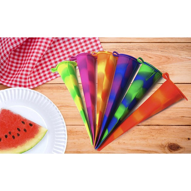 Born Baker Silicone Ice Pop Molds (6 pack)