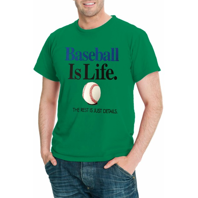 Baseball Is Life THE REST IS JUST DETAILS Men's Sport T-Shirt