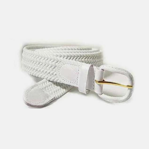 Unisex Comfort Waist Belt - Leather-finish Buckle