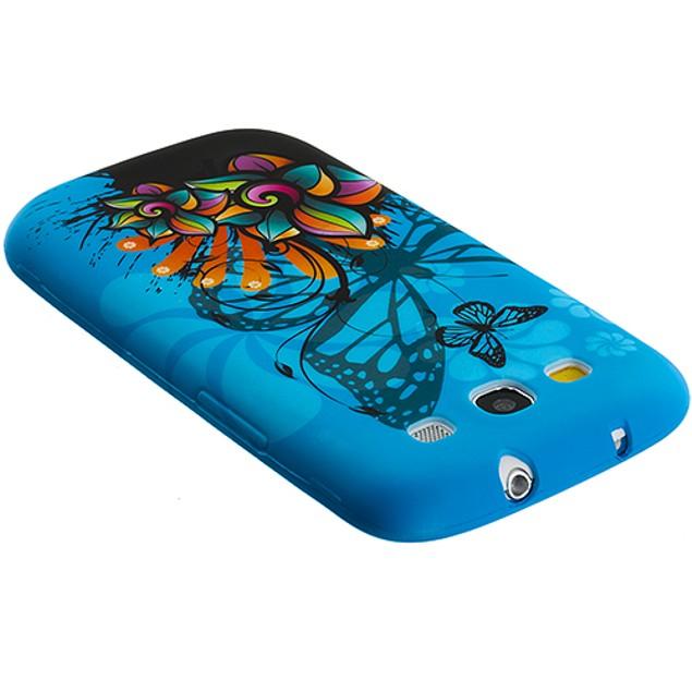 Samsung Galaxy S3 9300 TPU Design Rubber Skin Case Cover