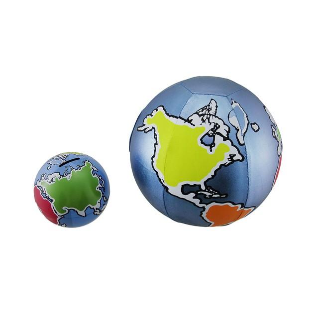 Yall Ball Earth Bank N Ball Light Blue 8 Inch Toy Banks