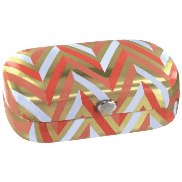 Fashion Smart Metallic Series Pill Case