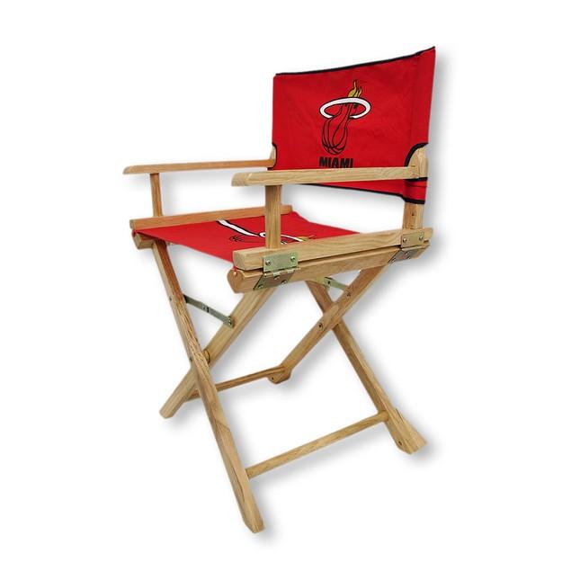 Miami Heat Junior Director`S Chair Childrens Chairs