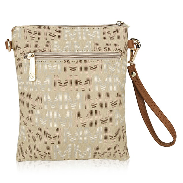 MKF Collection Valerie Milan M Signature Cross-body by Mia K Farrow