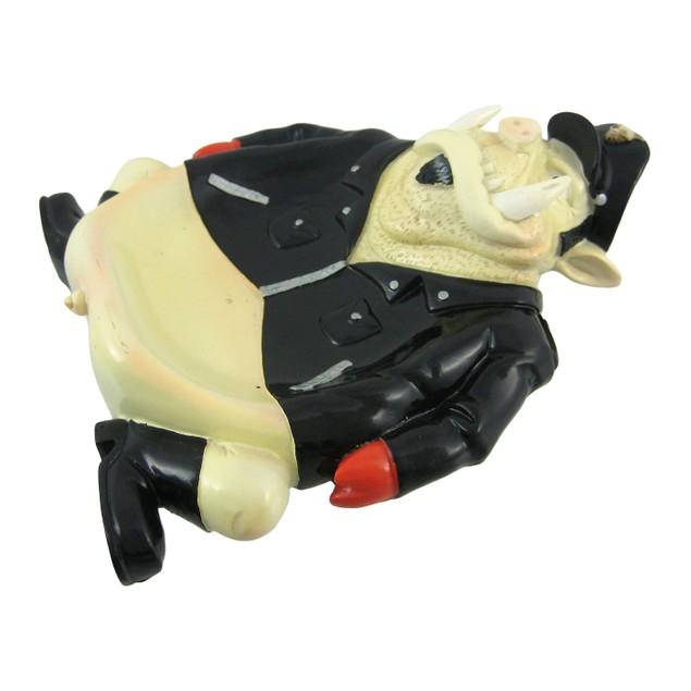 Funny Biker Hog Soap Dish/Valet Change Holder Tray Soap Dishes