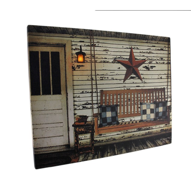The Sleeping Porch Lighted Led Canvas Wall Art Prints