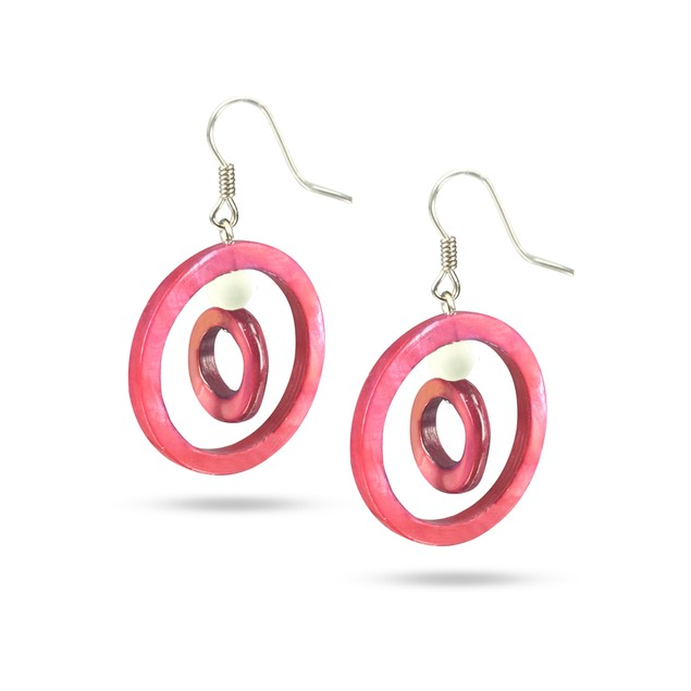 TREASURE ISLAND COLLECTION Mother-of-Pearl Earrings