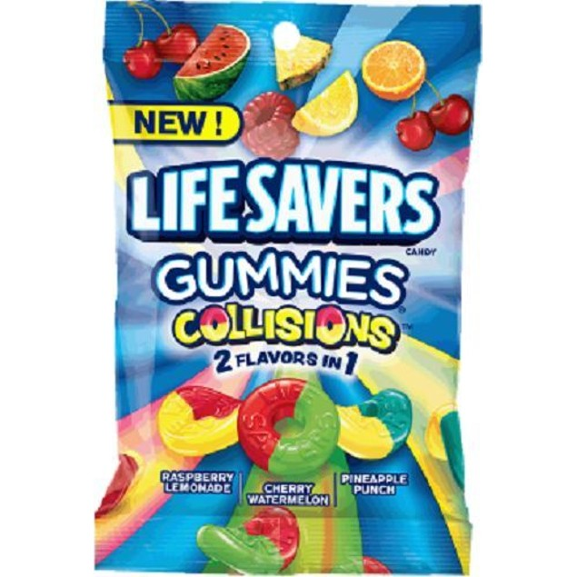 Life Savers Gummies Collisions Mix