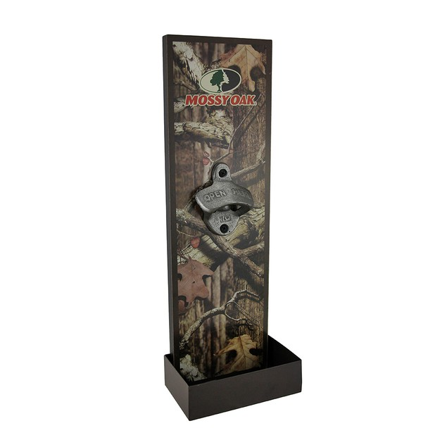 Mossy Oak Wall Mounted Bottle Opener W/ Cap Bottle Openers