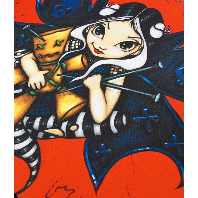 Red/Black `Fairy Voodoo` Strangeling Fairy Tablet Touch Screen Tablet