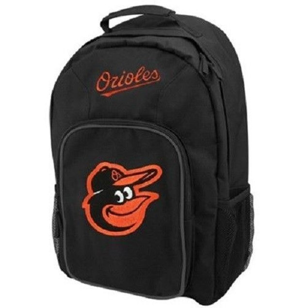 """Baltimore Orioles MLB Concept One """"Southpaw"""" Black Backpack"""