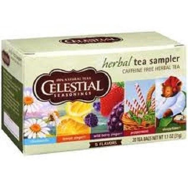 Celestial Seasonings Herbal Tea Sampler Tea