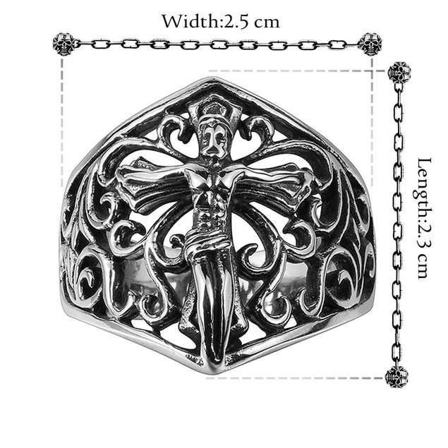 Flying Angel Stainless Steel Ring