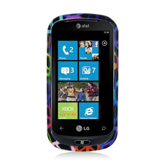 LG Quantum C900 Hard Design Case Cover