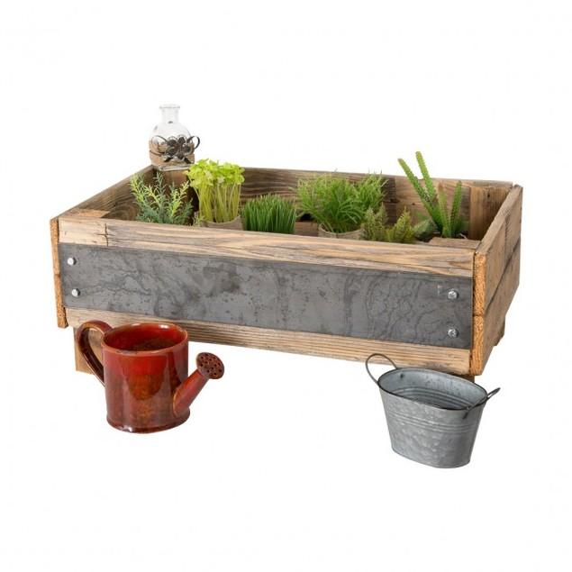 Industrial Elevated Gardening Bed