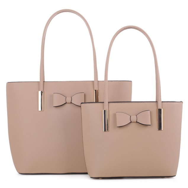 MKF Collection Jemma 2 PC Tote with Matching Mini Tote Bag